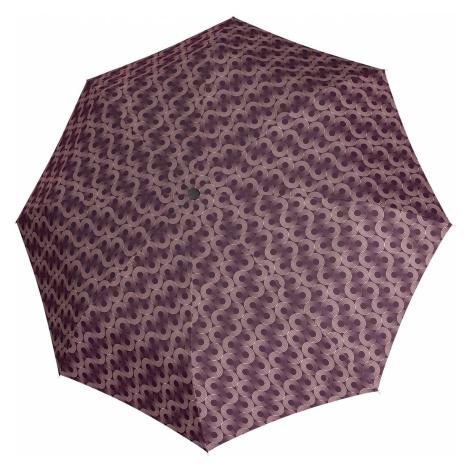 Vínový dámský plně automatický skládací deštník Alva Doppler