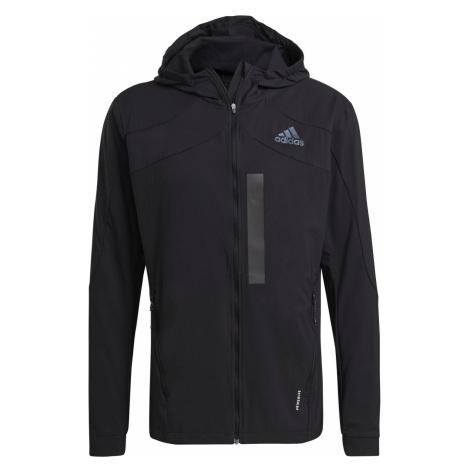 Běžecká bunda adidas MARATHON TRANSLUCENT Černá