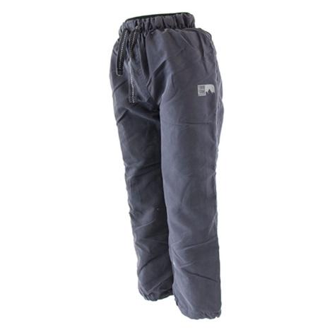 Pidilidi kalhoty sportovní podšité bavlnou outdoorové, Pidilidi, PD1074-09, šedá