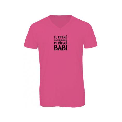 Pánské triko s výstřihem do V Ti, které mám nejraději