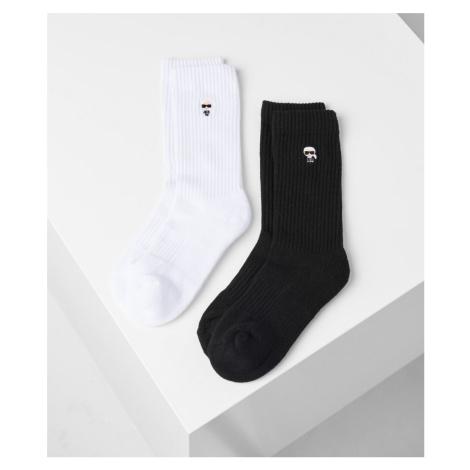 Ponožky Karl Lagerfeld K/Ikonik Sporty Socks Set - Různobarevná