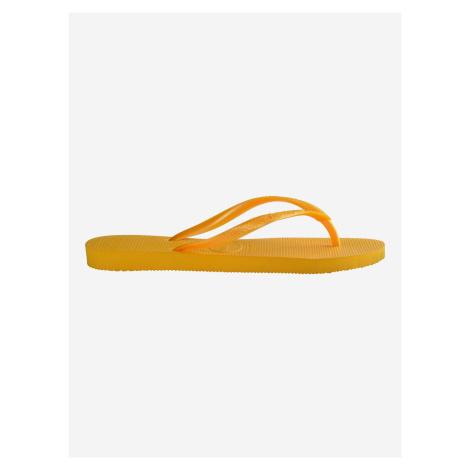 Slim Žabky Havaianas Žlutá