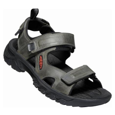 KEEN TARGHEE III OPEN TOE SANDAL M Pánské sandály 10012401KEN01 grey/black