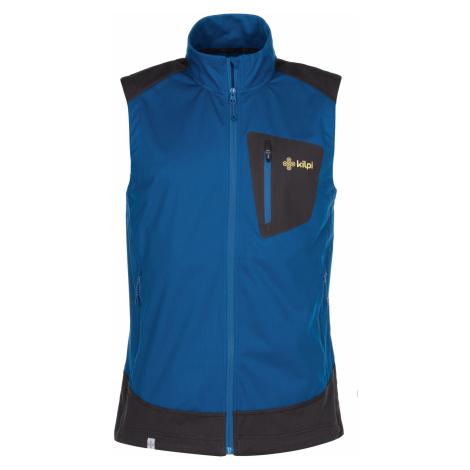 KILPI Pánská outdoorová vesta TOFANO-M MM0016KIDBL Tmavě modrá
