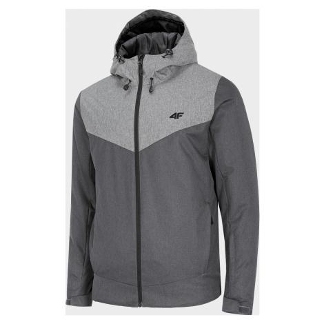 Pánská lyžařská bunda 4F KUMN301 Šedá