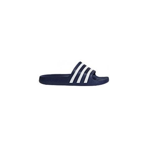 Modré pantofle Adidas Adilette Aqua