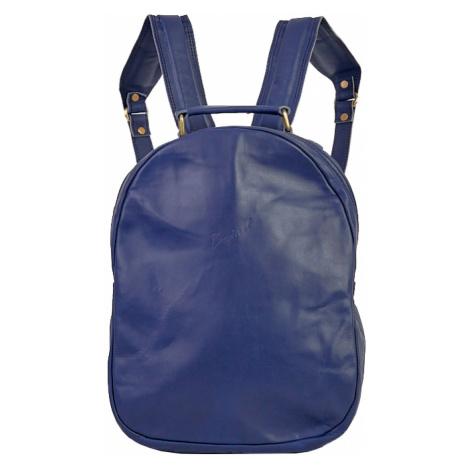 Bagind Maley Atmos - Dámský kožený batoh modrý, ruční výroba, český design