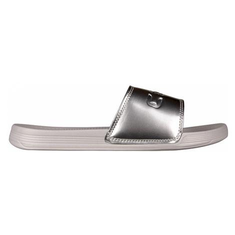 Coqui Dámské pantofle Sana Khaki Grey/Silver 6343-100-4699