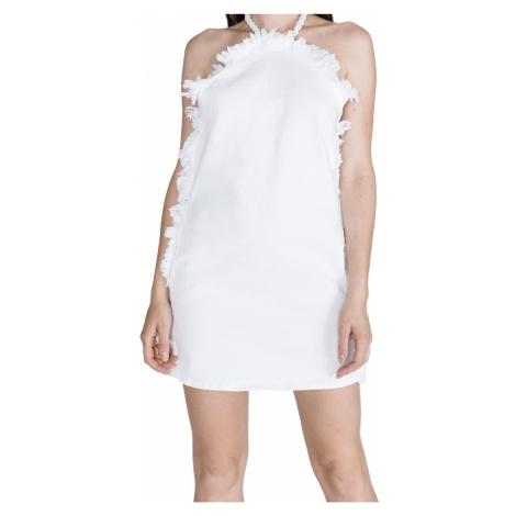 Bílé džínové šaty - PINKO