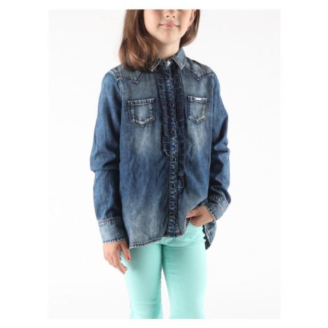 Košile Diesel Cosima Camicia Modrá