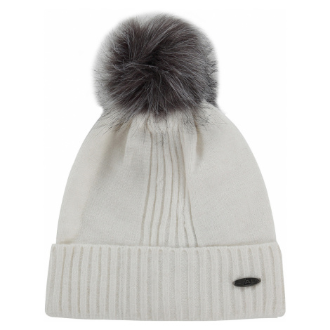 ALPINE PRO KASCE Unisex zimní čepice UHAP073000 bílá