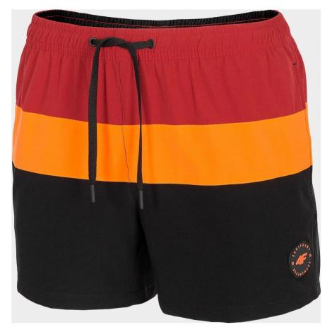 Pánské plážové šortky 4F SKMT201 Černé