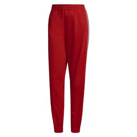 Adidas Sportovní kalhoty Adicolor Tricolor Primeblue Červená