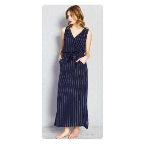 Dámské šaty Vienetta secret Alena | tmavě modrá
