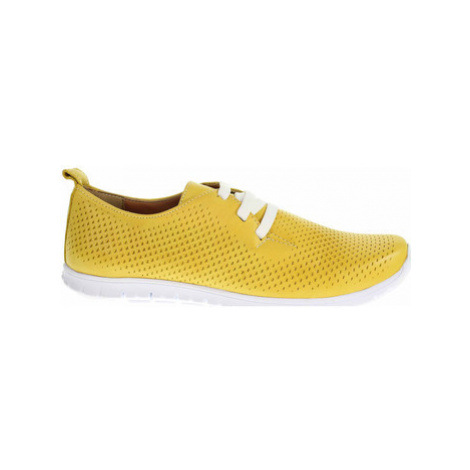 Deska Dámské polobotky 37904 yellow Žlutá