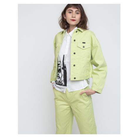 Obey Crush Jacket Sea Green
