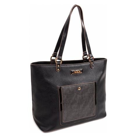 Dámská kabelka Doca 13938 - černá