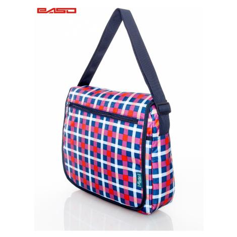Školní taška přes rameno s jemným vzorem FPrice