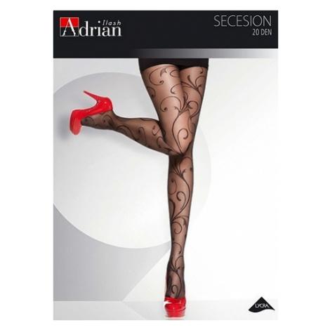 Dámské punčochové kalhoty Adrian Secession 20 den 6-2XL černá