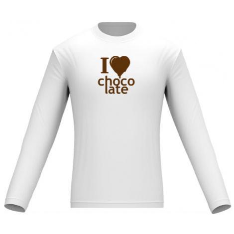 Pánské tričko dlouhý rukáv I Love Chocolate