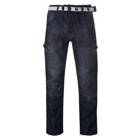 No Fear Belted Cargo Jeans pánské