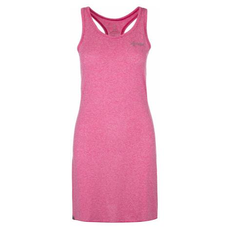 KILPI Dámské šaty SONORA-W ML0020KIPNK Růžová