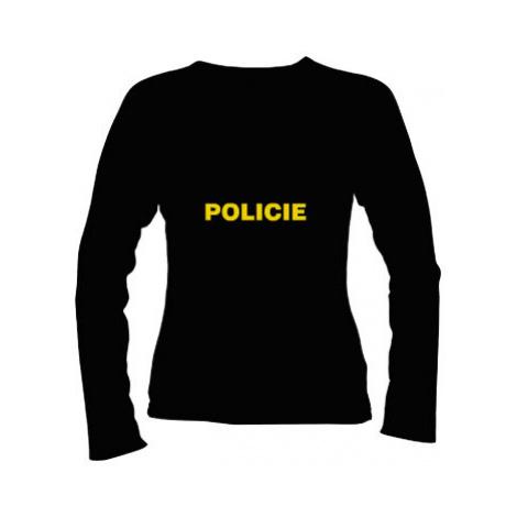 Dámské tričko dlouhý rukáv Policie