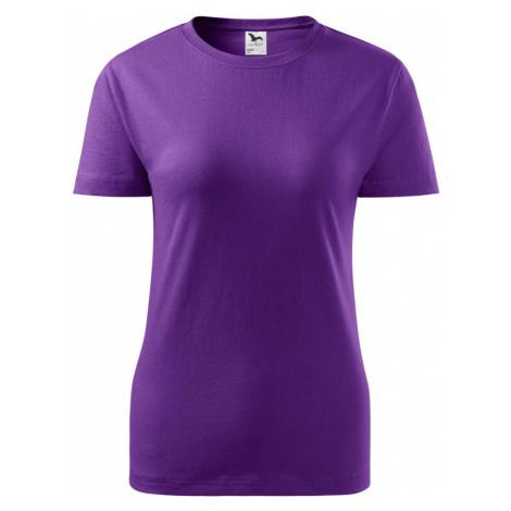 Malfini Classic New Dámské triko 13364 fialová