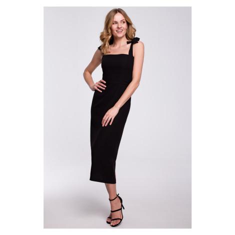 Černé šaty K046 Makover