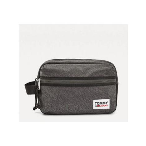 Tommy Hilfiger Tommy Jeans pánská černá kosmetická taška COLLEGE TECH WASH BAG