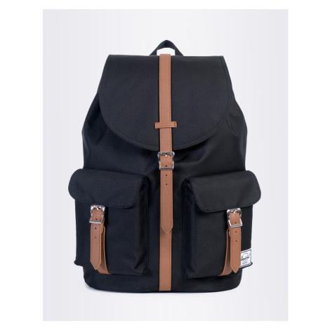 Herschel Supply Dawson Black/Tan Synthetic Leather