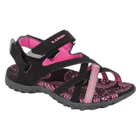 CAIPA JR children's sandals black LOAP