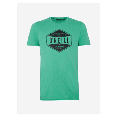 Tričko O'Neill Pm Surf Company Hybrid T-Shirt Zelená
