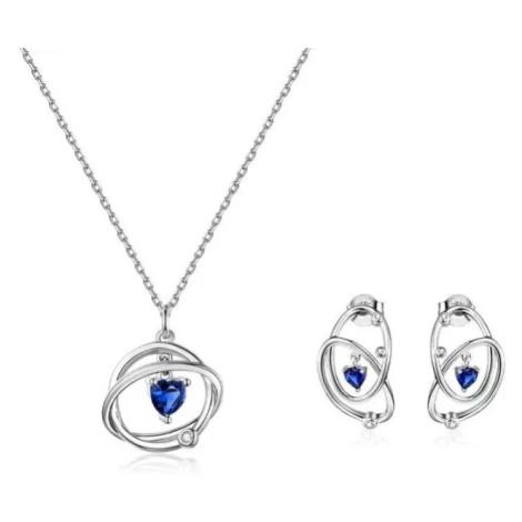 Linda's Jewelry Zvýhodněná sada šperků Galaxy Ag 925/1000 IS044