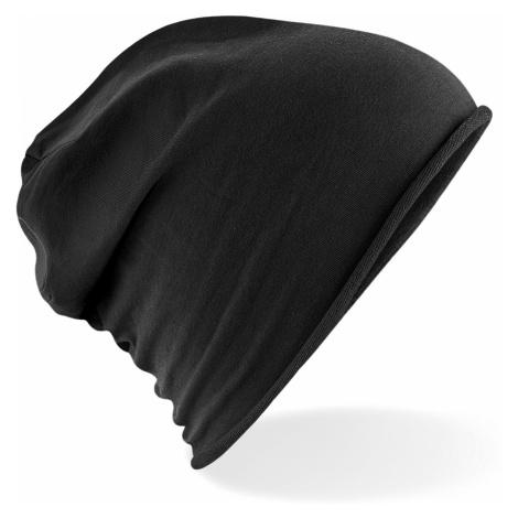 Stylová Jersey čepice - černá Beechfield