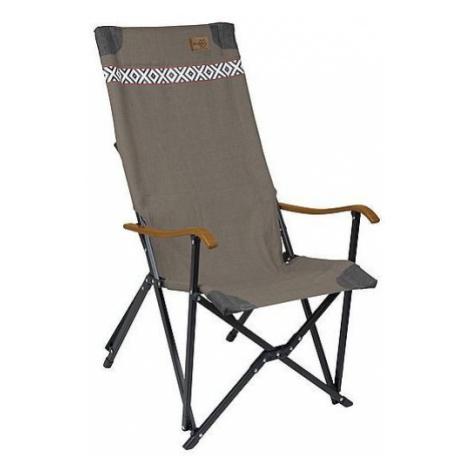 Křeslo Bo-Camp Camp Chair Camden Barva: hnědošedá