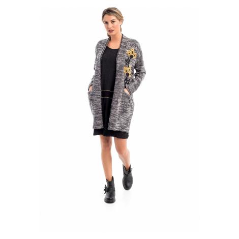 Mamatayoe D´Annunzio Dámský kabát šedý