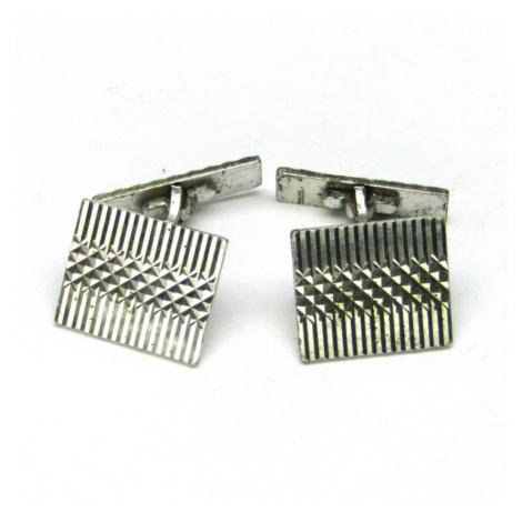 AutorskeSperky.com - Stříbrné manžetové knoflíky - S2080