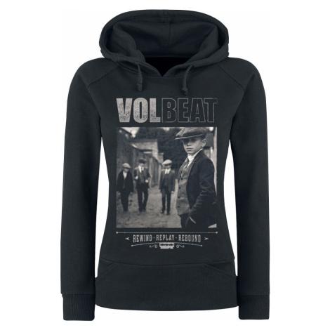 Volbeat Cover - Rewind, Replay, Rebound Dámská mikina s kapucí černá