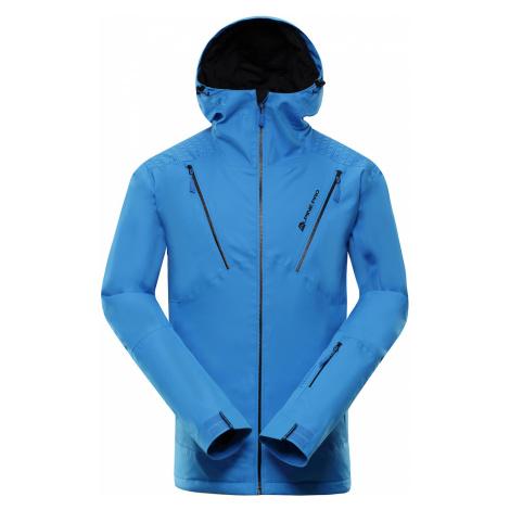 ALPINE PRO MIKAER 3 Pánská lyžařská bunda MJCP368674 Blue aster