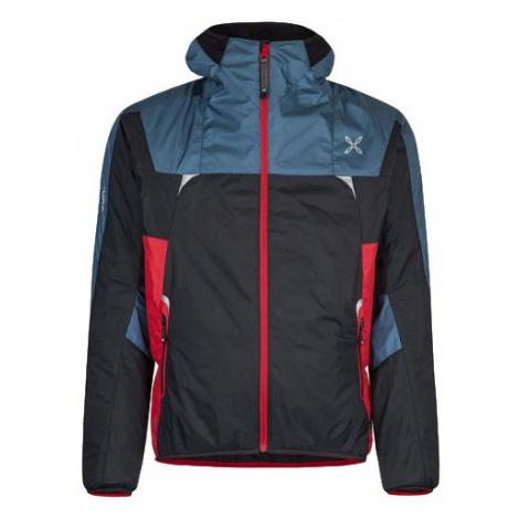Montura pánská bunda Skisky Jacket, modrá/černá/červená