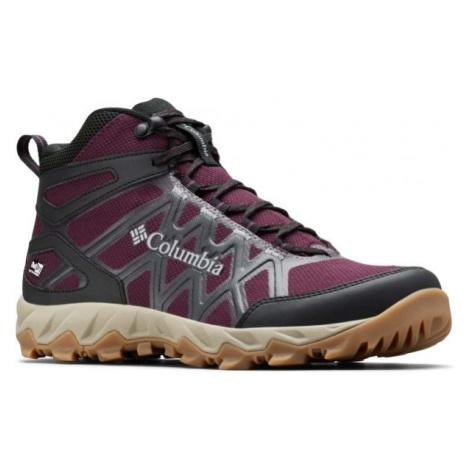 Columbia PEAKFREAK X2 MID fialová - Dámské outdoorové boty