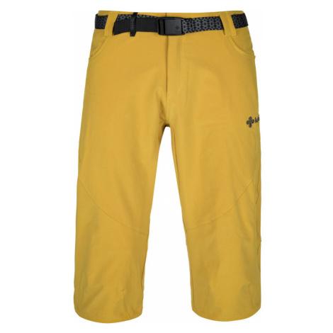 KILPI Pánské 3/4 kalhoty OTARA-M KM0238KIYEL Žlutá