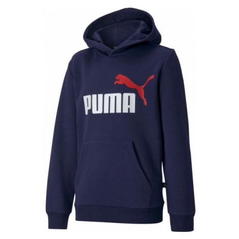 Puma ESS 2 COL HOODY FL B - Chlapecká mikina