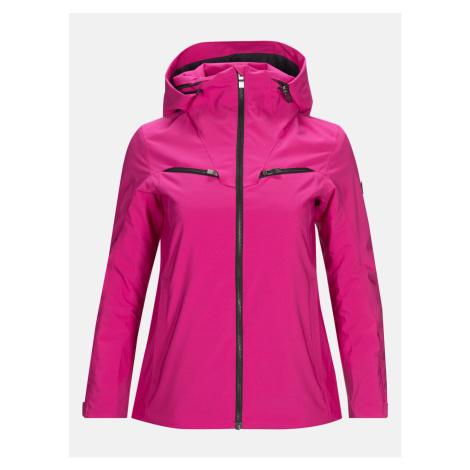 Bunda Peak Performance W Lanzo J Active Ski Jacket - Růžová
