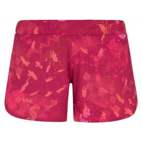 Dámské běžecké kraťasy KILPI LAPINA-W růžová