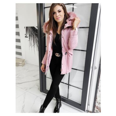 DESTONS pink women's parka jacket TY1306 DStreet