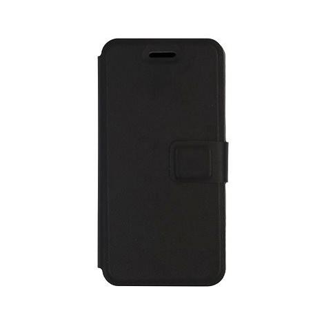 iWill Book PU Leather Case pro Apple iPhone 7 / 8 / SE 2020 Black