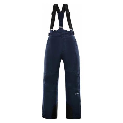 Dětské lyžařské kalhoty Alpine Pro ANIKO 3 - tmavě modrá