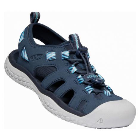 KEEN SOLR SANDAL W Dámské sandály 10012339KEN01 navy/blue mist